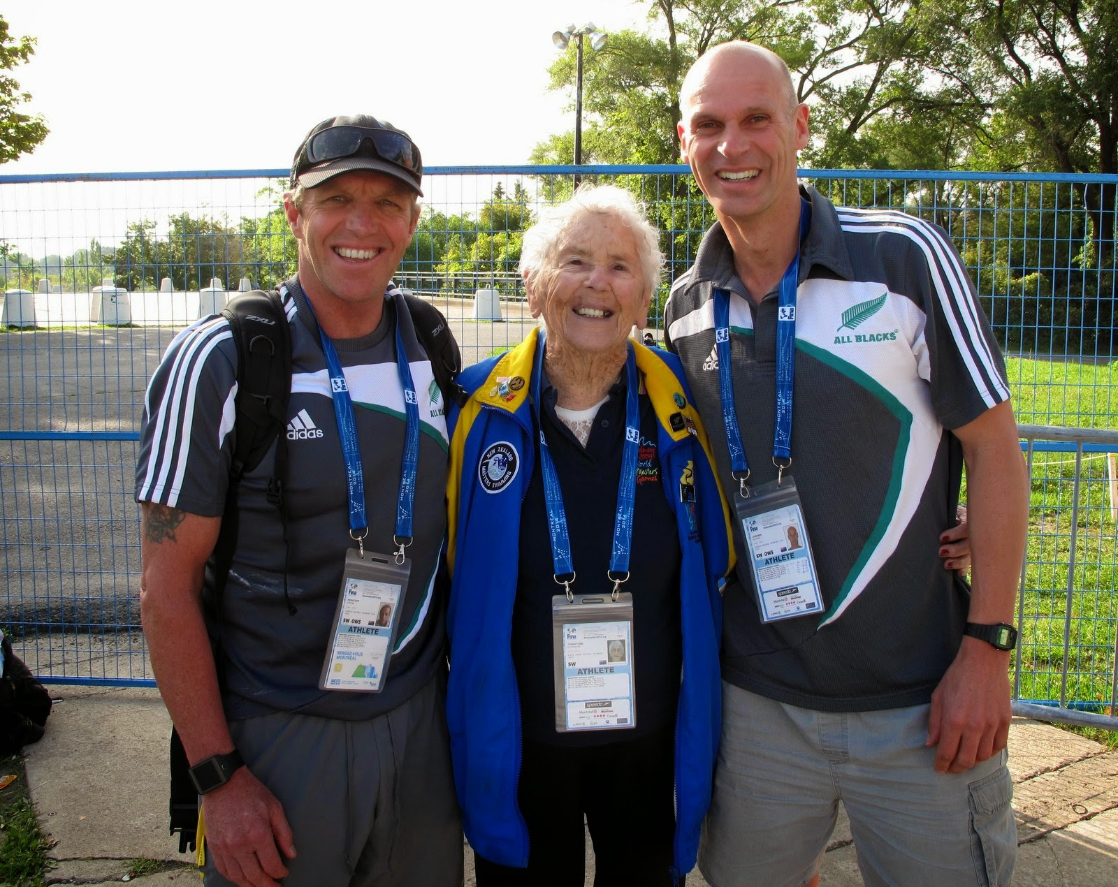From Left:  Steve Prescott,  Katherine Johnstone and Richard Jongens