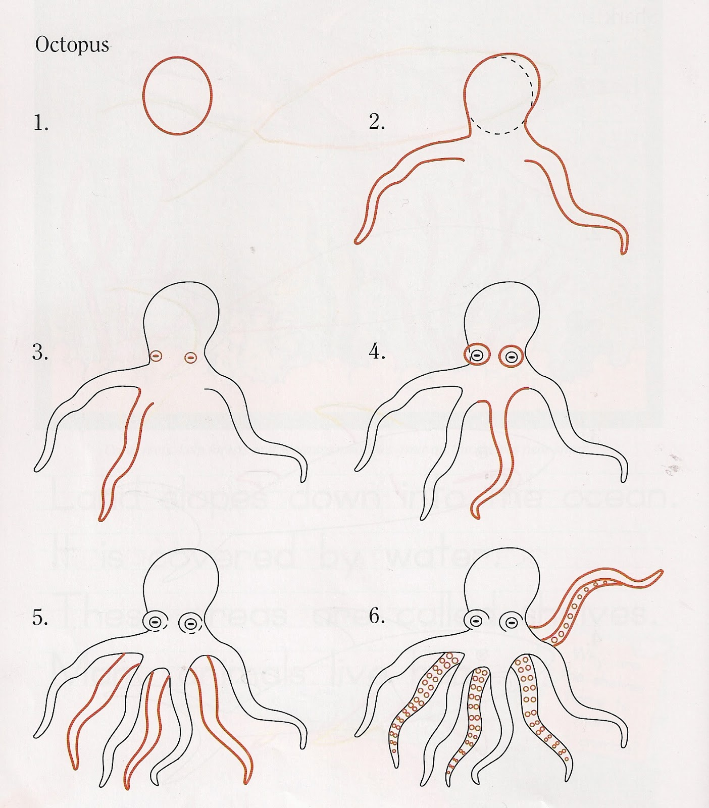 compassion family how to draw an octopus