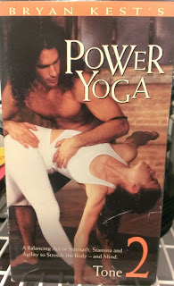 power yoga vhs cover by bryan kest