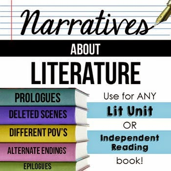https://www.teacherspayteachers.com/Product/Narratives-about-Literature-Use-with-ANY-book-1668473