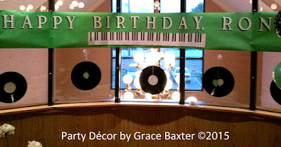 piano keyboard birthday banner, by Grace Baxter