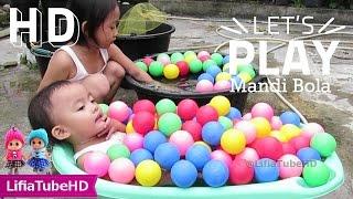 Mainan Anak ❤ Asiknya Bermain Air & Mandi Bola - Kids Pool Fun Balls