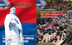 LAS DOS LTIMAS EDICIONES DE LA REVISTA EXPRESIN 2013
