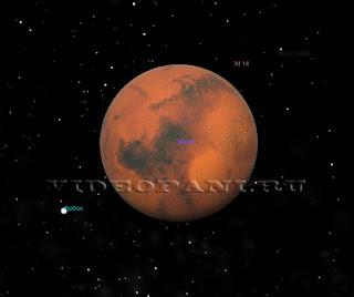 Mars i ego sputnik Fobos