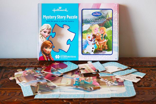 Hallmark Canada Disney Frozen Puzzle Book #LoveHallmarkCA
