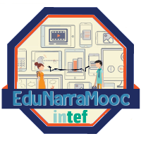 badge #EduNarraMooc