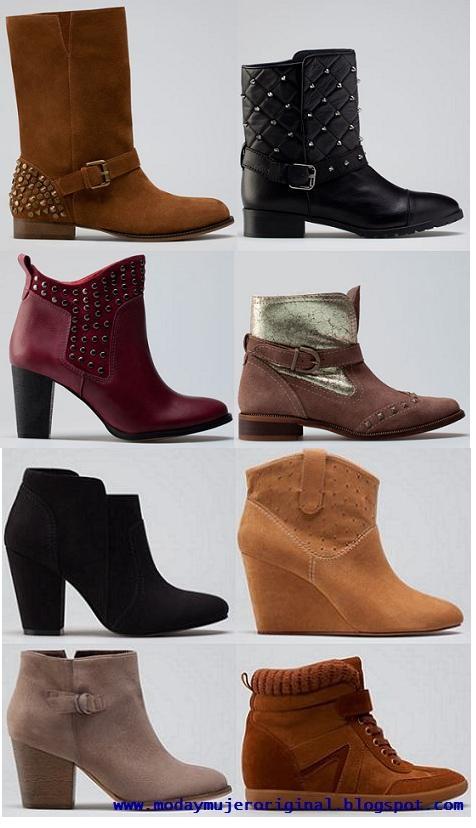 los botines de de ca;o bajo es moda y tendencia este oto;o invierno