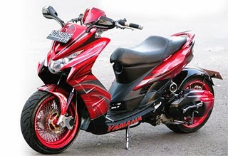Gambar Modif Motor Yamaha Soul Matic Modifikasi Keren Terbaru