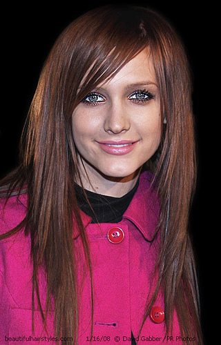medium length straight hairstyles. tattoo Mid Length