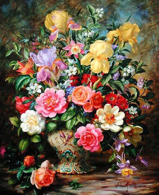 flores-realismo-oleo-sobre-lienzo