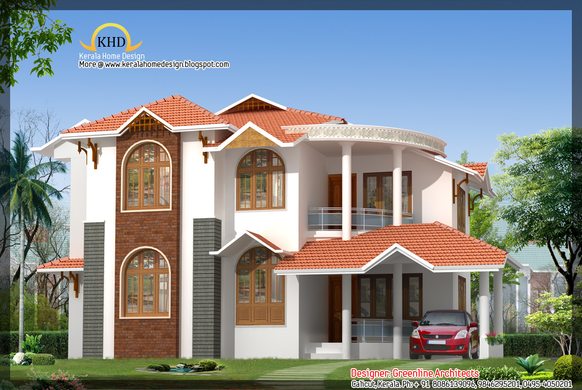 Beautiful home design 1751 sq ft kerala home design and floor plans Gorgeous small bedroom designs for indian homes