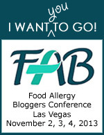 I want YOU to go to the Food Allergy Bloggers Conference