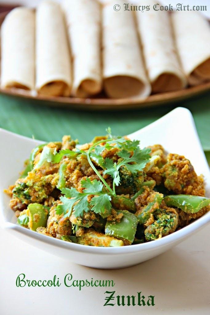 Broccoli Capsicum Zunka