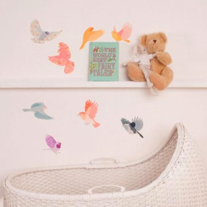 Deco Handmade: Papeles pintados para niños