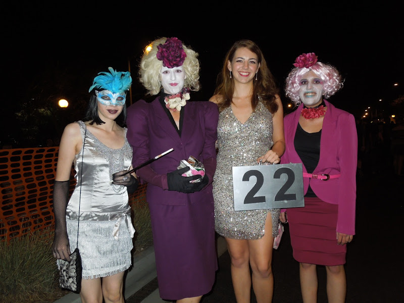 Effie Trinket Hunger Games WEHO Halloween Carnaval