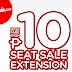Air Asia Zest Air's P10 Seat Sale