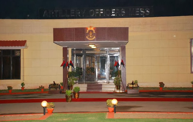 Arrillery Officers Mess in Delhi Cantt