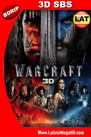 Warcraft: El Primer Encuentro de Dos Mundos (2016) Latino HD 3D SBS BDRIP 1080P ()