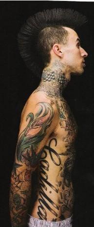 Jeff Green Wallpapers Travis Barker S Tattoos