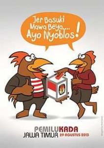 Hasil Quick Count Pilgub Pemilukada Jatim 2013 Terbaru