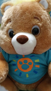 my friend teddy close up