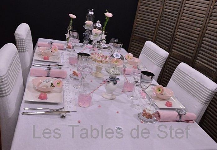 d coration de table by les tables d coratives de stef. Black Bedroom Furniture Sets. Home Design Ideas