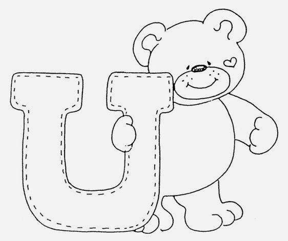 imagens para colorir das vogais - Alfabeto para imprimir Desenhos para Colorir