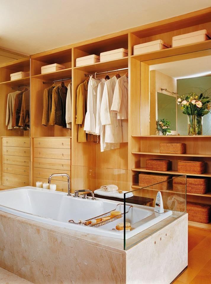 Baños Vestidores Fotos:foto el mueble foto john bouchier via ideal home foto