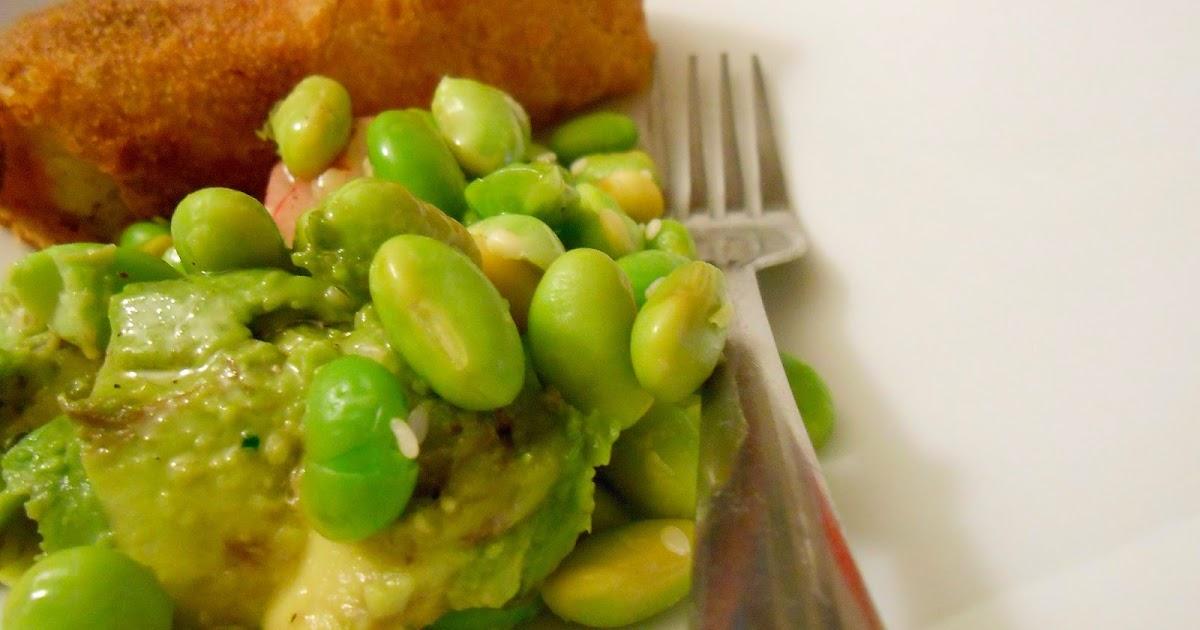 Heat's Kitchen: Avocado and Edamame Salad