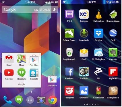 Aplikasi Launcher Android 4.4 Kitkat
