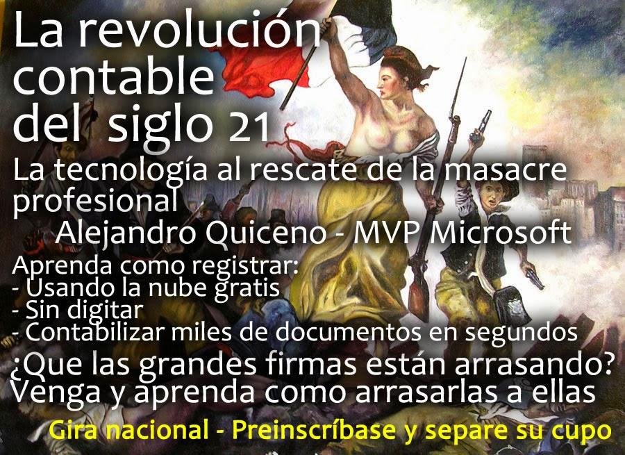 "Gira Nacional ""La Revolución Contable del Siglo 21"""