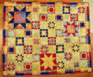 Stars quilt complete