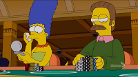 Los Simpsons- Capitulo 16 - Temporada 26 - Audio Latino - Policía Del Cielo