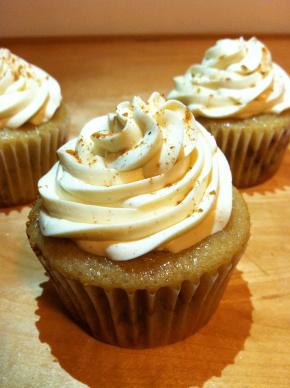 Snicker-doodle Vegan Cupcake Recipe