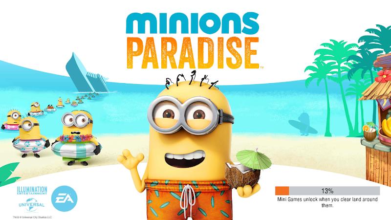 Game Minions Paradise