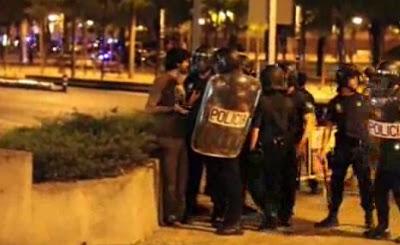 video le pegaron a gorka ramos periodista español
