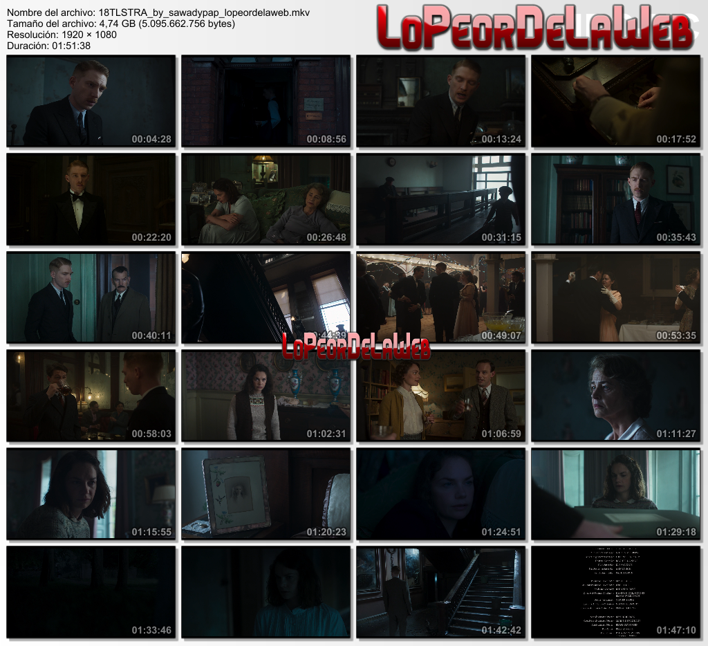 The Little Stranger [2018] [BBRip 1080p] [Dual Audio]