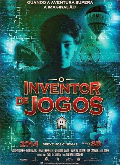 Download O Inventor de Jogos AVI + RMVB Dublado Torrent