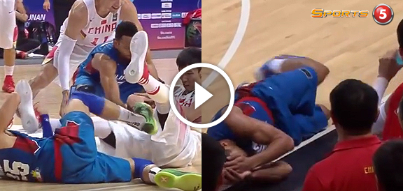 Physical Intensity - Gilas Pilipinas vs. China (VIDEO) FIBA Asia 2015 Final