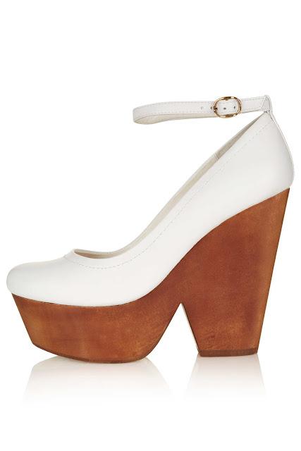 wooden platform shoes
