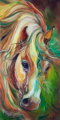 http://www.ebay.com/itm/M-BALDWIN-ORIGINAL-ABSTRACT-WILD-HORSE-OIL-PAINTING-MARCIA-BALDWIN-/151576218965?