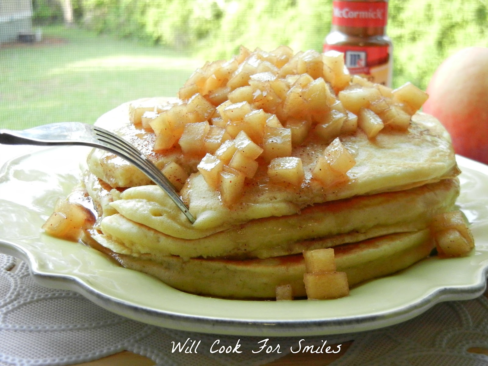 Bananas Foster Pancakes - Will Cook For Smiles