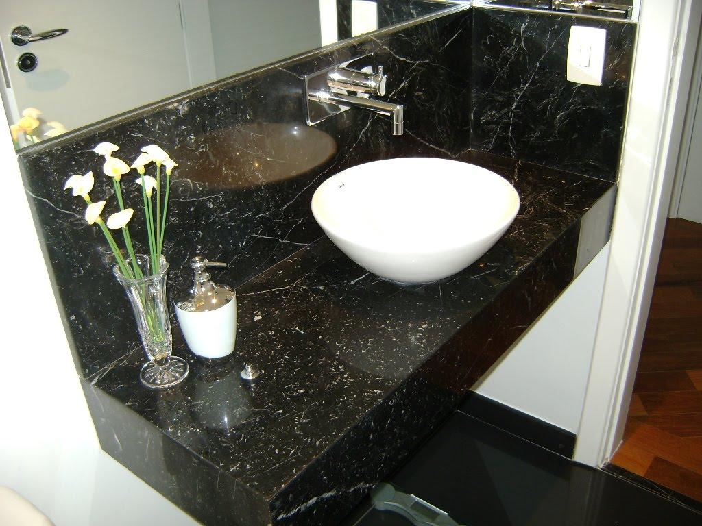 BANCADAS DE BANHEIRO #623B1F 1024x768 Banheiro Branco Com Bancada Preta