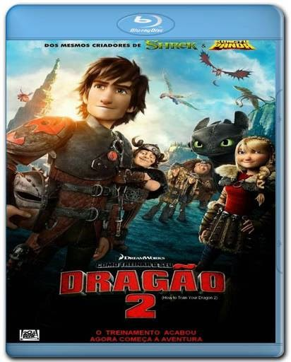 Download Como Treinar o Seu Dragao 2 720p + 1080p 3D Bluray BRRip + AVI Dual Áudio + RMVB Dublado BDRip Torrent