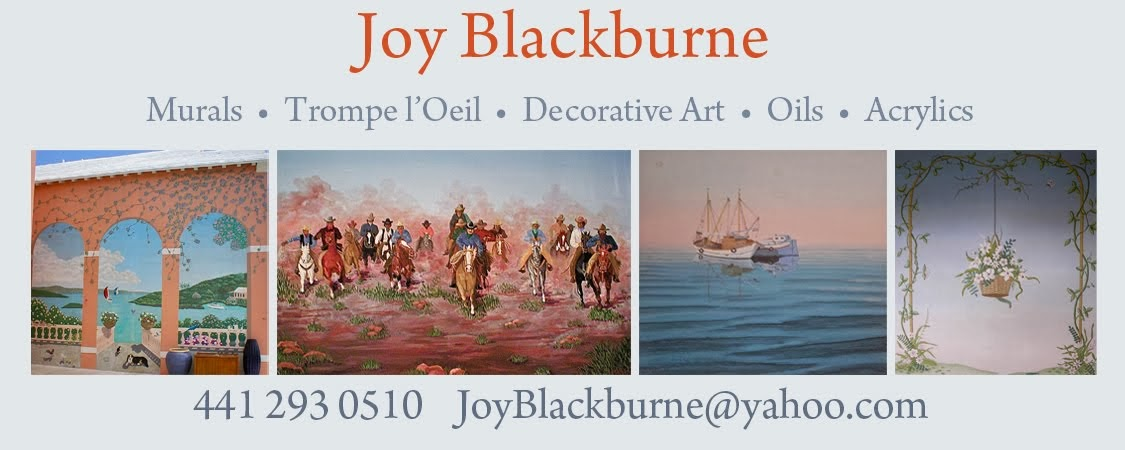Joy Blackburne Murals