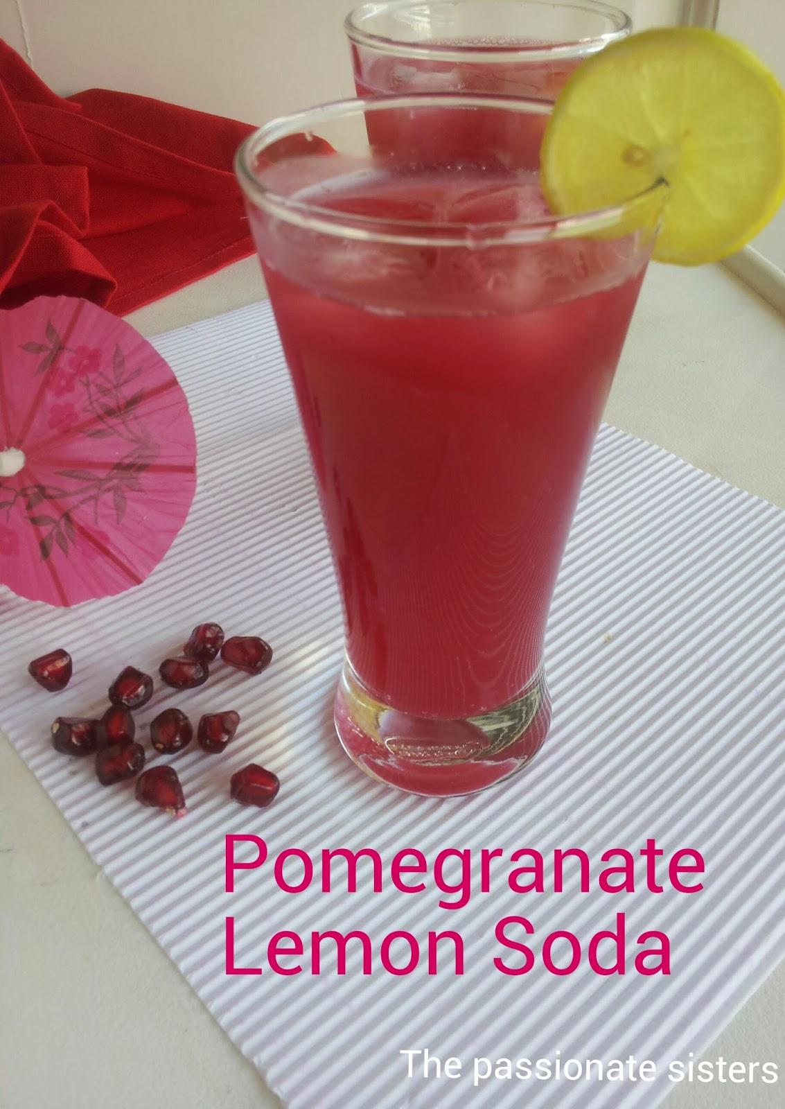 ... drink as pomegranate lemon paneer soda as i used paneer soda in this
