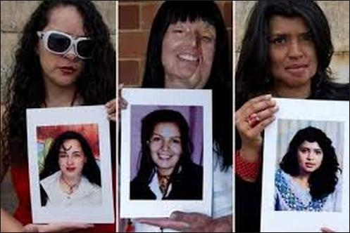 Victimas de ataques con ácido en Colombia