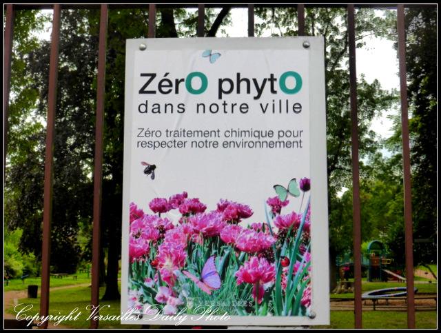 Green gardening Versailles