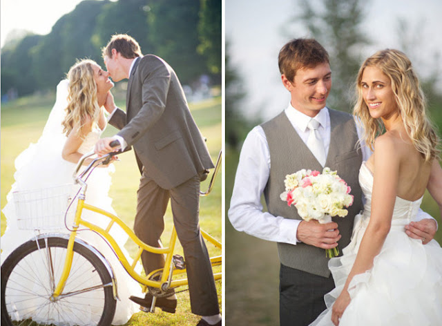14.15 Tandem Bike wedding