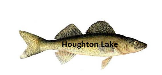 Houghton lake walleye report houghton lake 6 7 13 for Enid lake fishing report